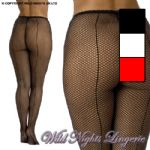 Brand New Fishnet Seamed Tights